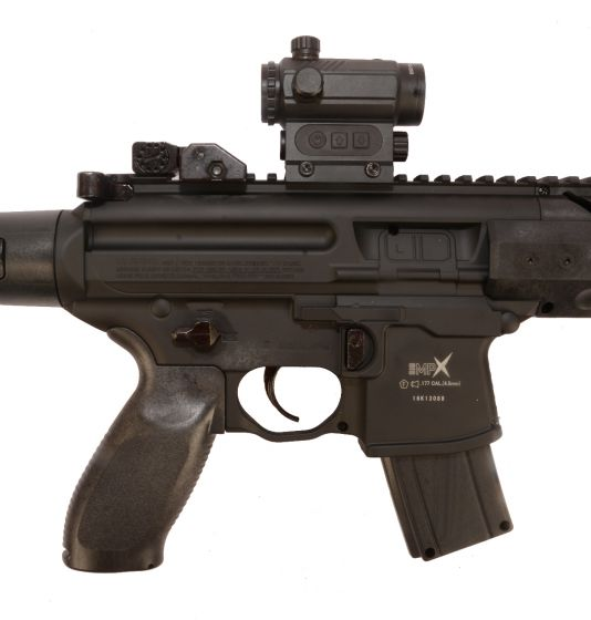 SIG SAUER AIRGUN  MPX-MRD Black CO2 4,5mm Diabolo