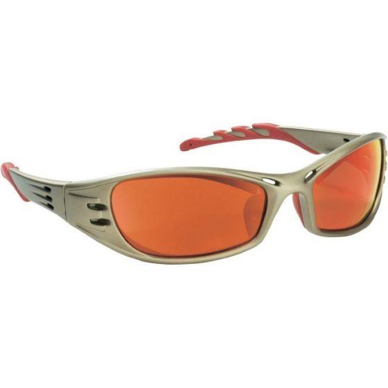 Peltor Schutzbrille Fuel rot verspiegelt