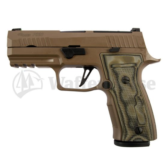 SIG SAUER P 320 AXG Scorpion  9mm para  NEU