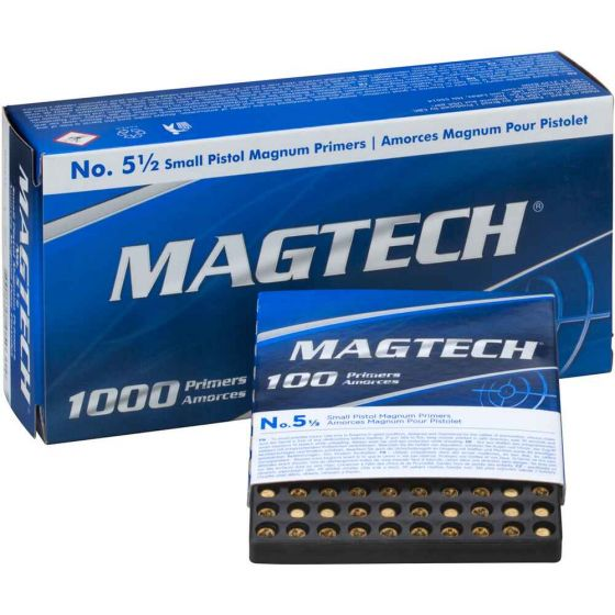Magtech Zündhütchen 5½ Small Pistol Magnum