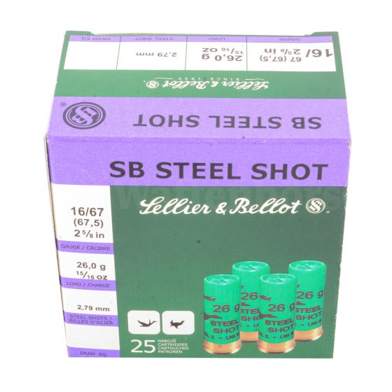 Sellier & Bello Steel Trap 16/67,5  2,79 mm 24 gramm