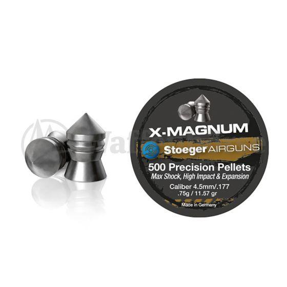 STOEGER Blei - Diabolo - Spitz X - Magnum 4,5mm