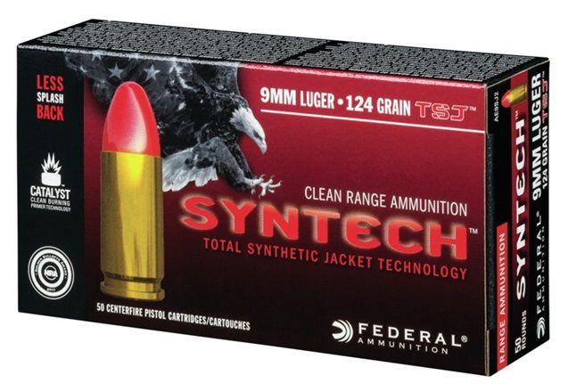 Federal Syntech 9mm Luger/ Para VM 8,0g/124grain