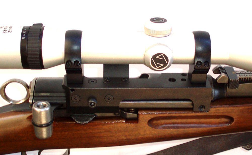 Luftgewehr mit einem zielfernrohr einschiessen teil