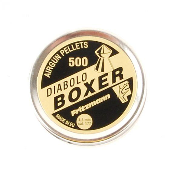 DIABOLO BOXER  Blei-Spitz-Kugeln 4,5mm