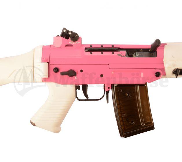 SIG Sturmgewehr 550 / PE 90 Pink/Weiss  GP90/.223 Rem