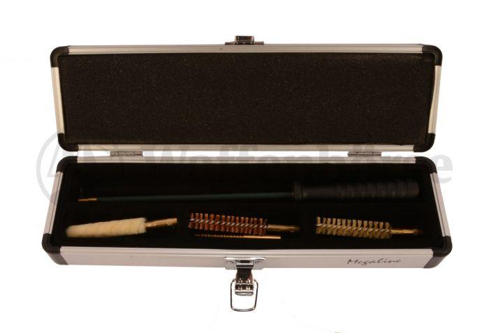 Megaline Reinigungsgarnitur Gewehr 9mm in Alu-Box