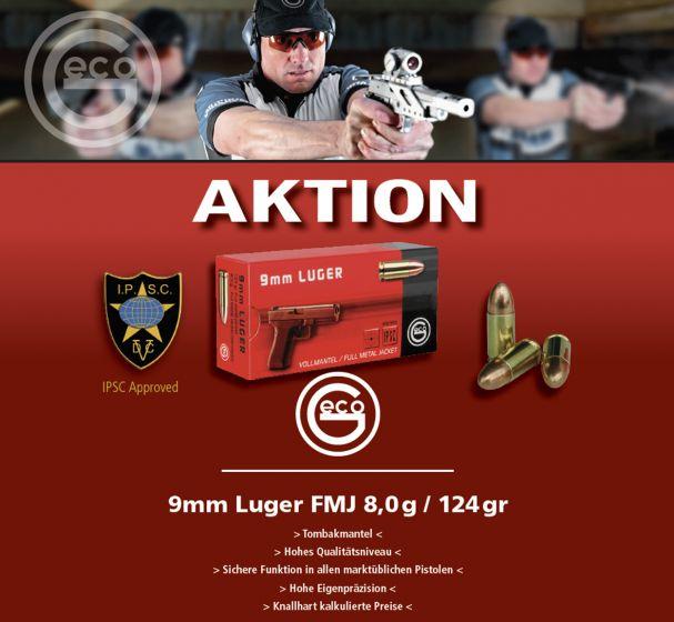 GECO 9mm Para   VM 8,0g   Herbstaktion