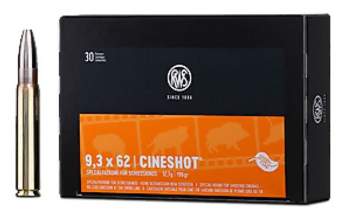 RWS 9,3x62 Cineshot Orange 12.7g