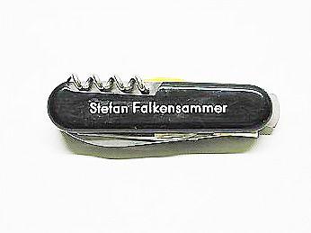 Gravuren Monogramm  Messer