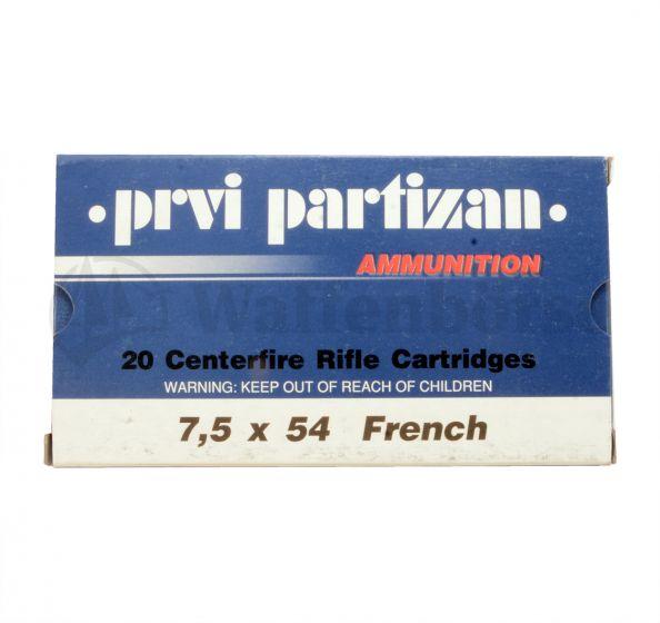 Partizan 7,5x54 French FMJ 9.0g/139grain