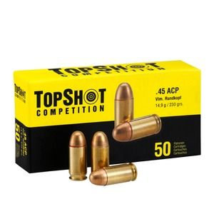 Top Shot  .45 ACP  VM  230gr  1000er Pack