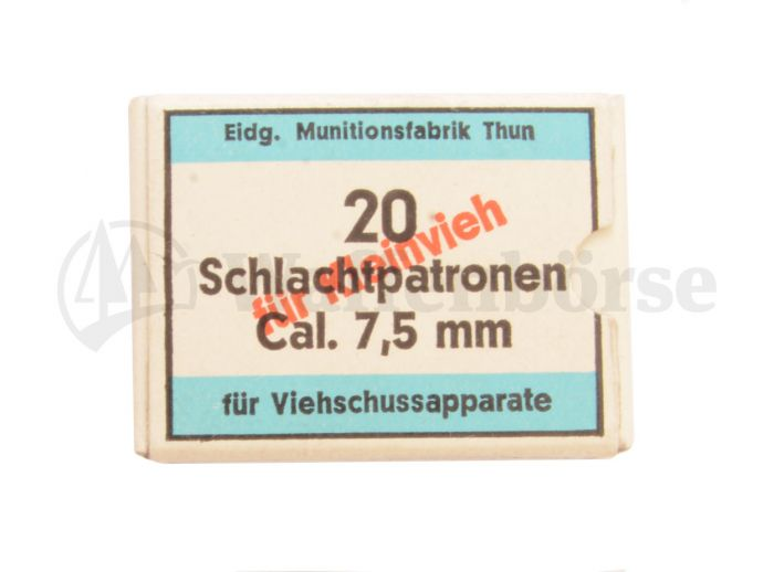MFT Viehschuss Patronen 7,5mm blau
