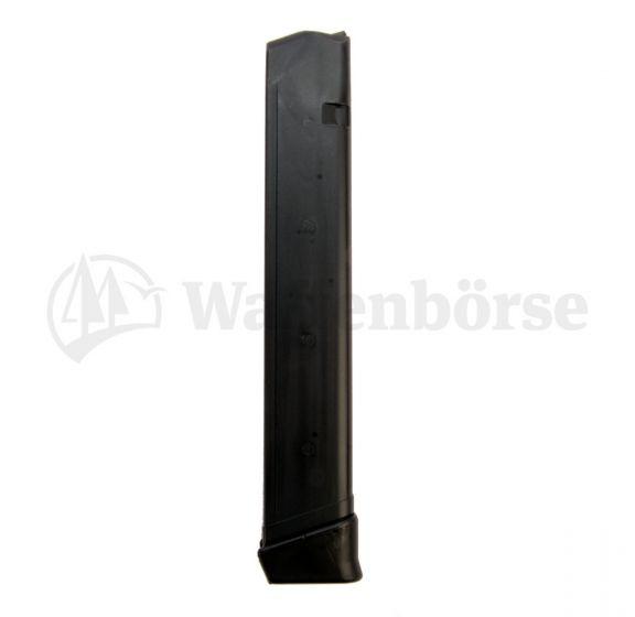 KCI Magazine zu Glock 17 / 33 schüssig  9mm para