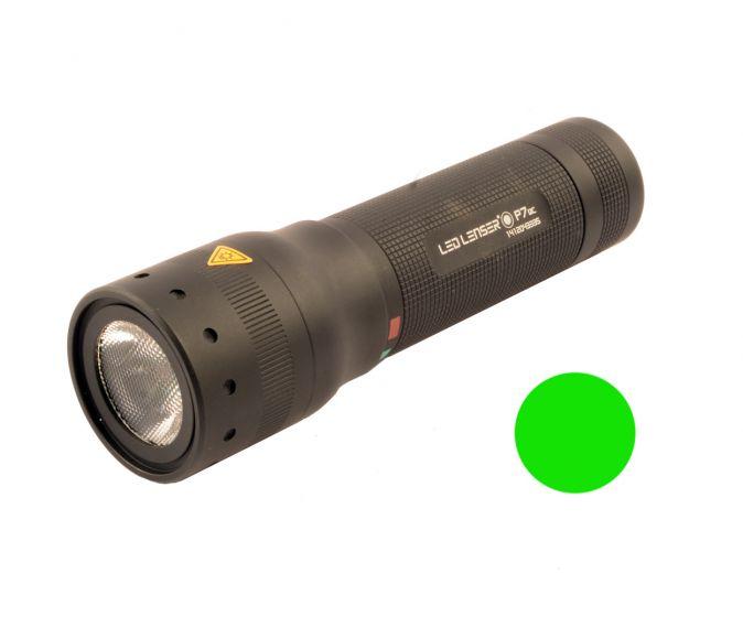 LED Lenser T7 grün Taschenlampe