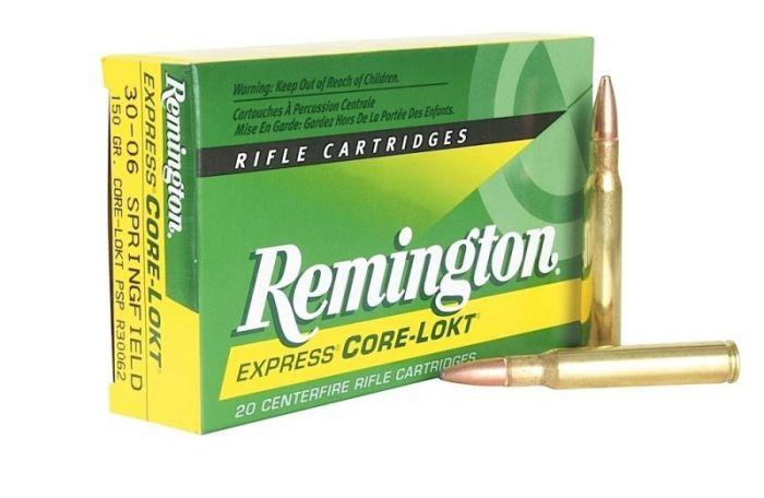 REMINGTON  .30-06 Core Lokt  Ptd SP  150 gr