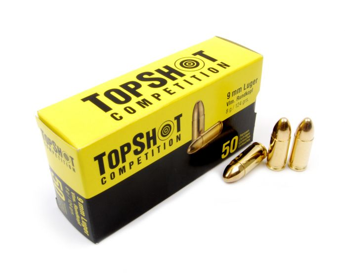 TOP SHOT  9mm Luger/ Para VM 8,0g/124grain