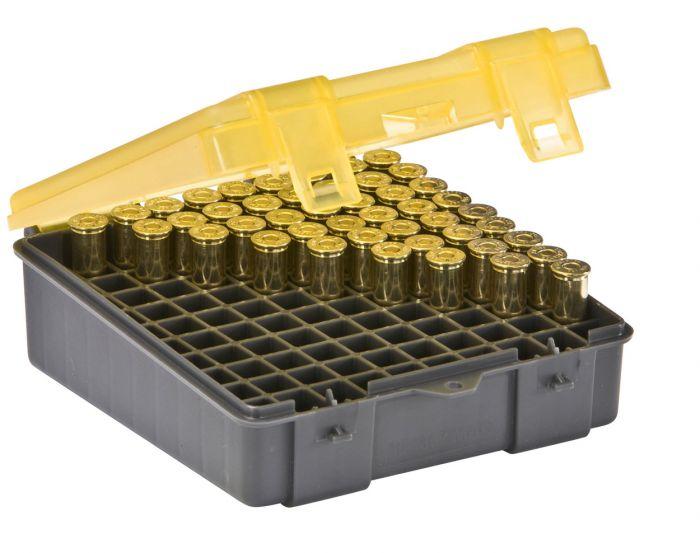 PLANO Munitionsboxen  .38 Spec. / .357 Mag  / 100 Patronen