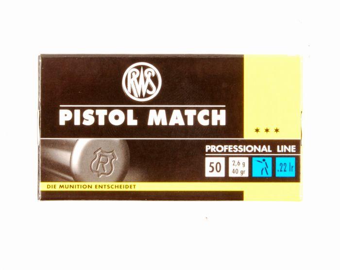 RWS Dynamit Nobel .22 long rifle Pistol Match (5000)