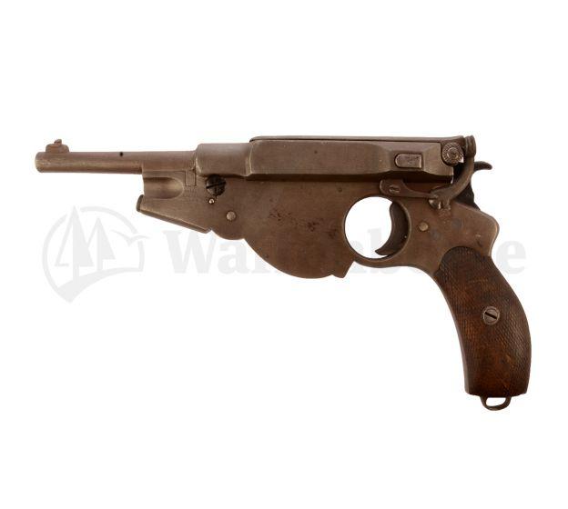 BERGMANN 1896 Gaggenau no. 3 6,5mm Bergmann
