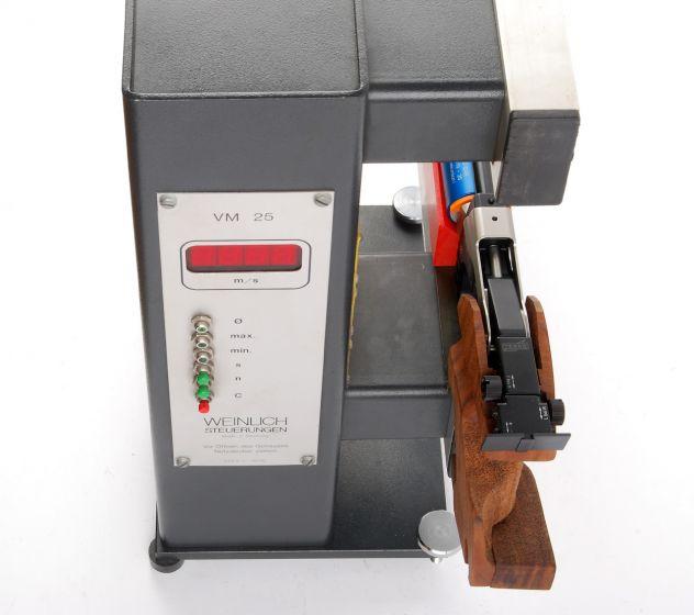 V0-Messung Luftdruck