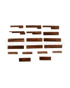 Konvolut - Druckerplatten - Messing Winchesterr
