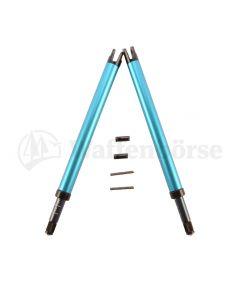 WYSS verstellbare Zweibeinstützen Stgw 57 blau - grau