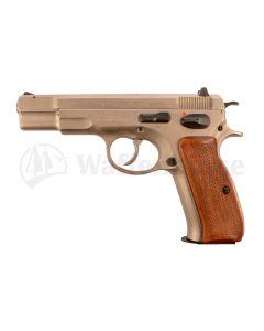 CZ Pistole CZ 75 Nickel   9mm para