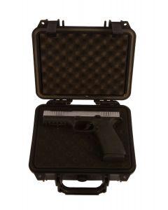 Waffenbörse Pistolenkoffer  Wasserfest   23,5x18,1x10,5 cm (innen)