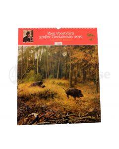 RIEN Poortvliets großer Tierkalender 2019