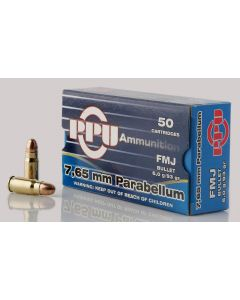 Partizan PPU  7.65mm Para VM 6,0g