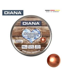 DIANA Blei-Rundkugeln Verkupfert Oktoberfest  BB 4,4mm