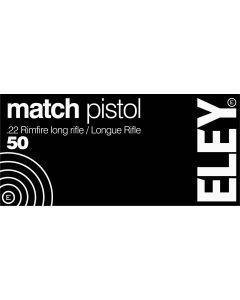 ELEY Pistol Match schwarz    .22 long rifle