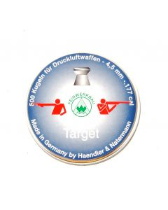 HAENDLER & NATERMANN 4,49mm FWB  Blei-Target-Match-Kugeln