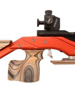 TESRO Matchluftgewehr RS 100 Basic rot Pressluft, 4,5mm