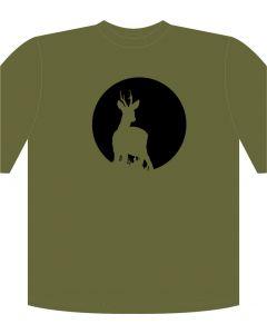 Rafco T-Shirt Reh/Vollmond Khaki