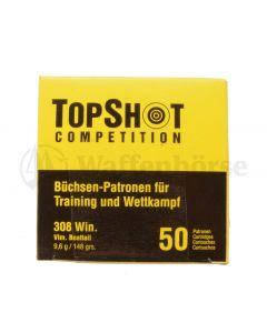 Top Shot .308 Winch FMJ 148gr / 9,55g