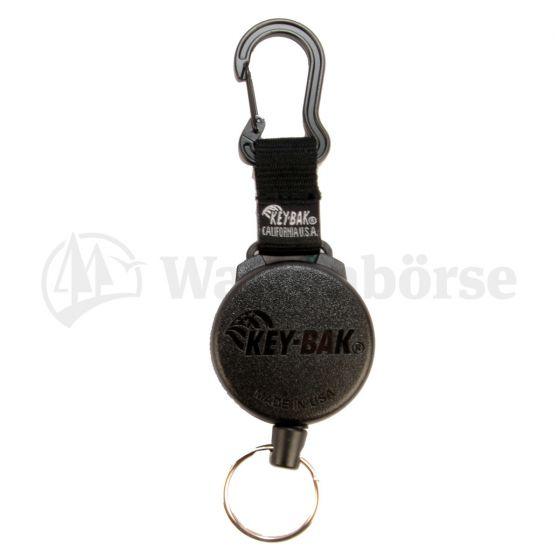 KEY-BAK Schlüsselanhänger mit Kevlarschnur  120cm / Karabiner