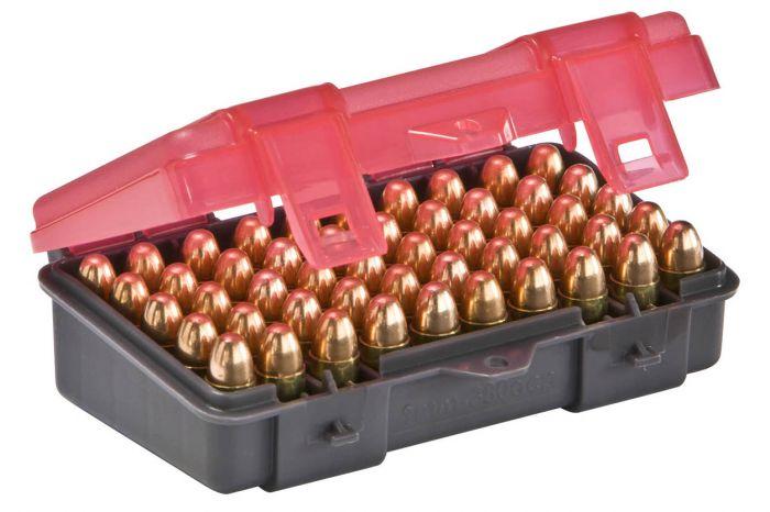 PLANO Munitionsboxen  9mmpara/.380  /  50 Patronen