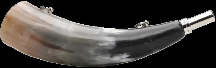 ELLES Treiberhorn aus Kuhhorn 33cm