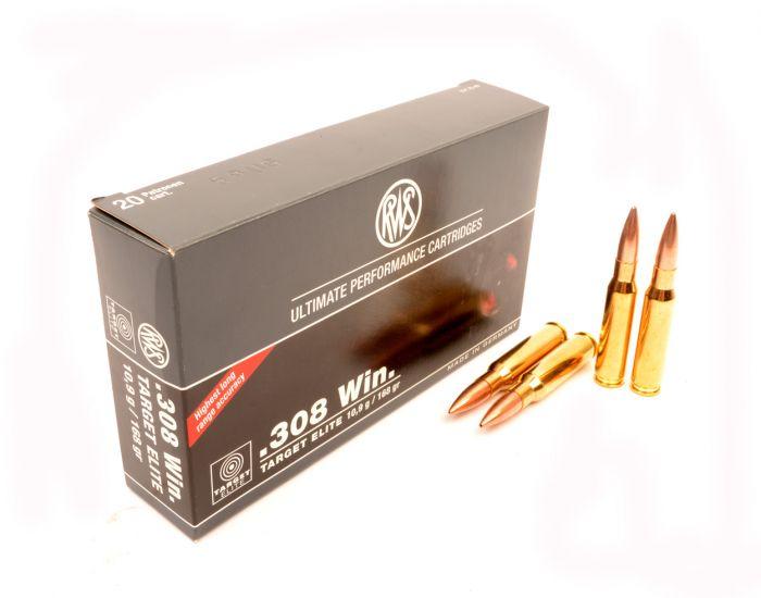 RWS / RUAG .308 Winch Target Elite BTHP 10.0g/154gr