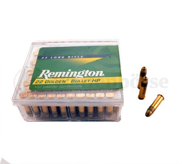 Remington Golden Bullet 22lr long HP Highvelocity