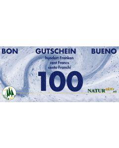 NaturAktiv Einkaufsgutschein sFr. 100.-