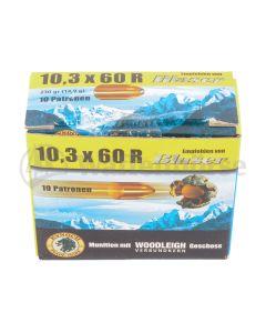 BLASER Kynoch 10,3x60R Woodleight 14.9g