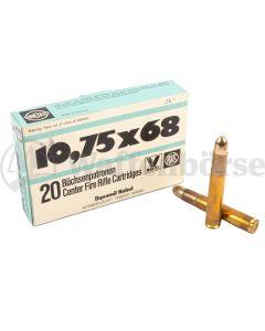 RWS 10,75x68  VM 22,5g / 347 grain RESTPOSTEN