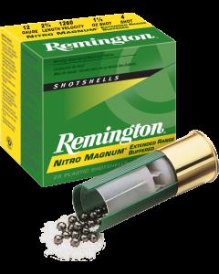 Remington Schrotpatrone 12/70, Nitro Mag No.4 3.3mm, 42g