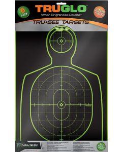 TRUGLO Scheiben  Handgun-Target, Fluoreszierend