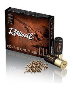 RWS Schrotpatrone 12/70 Copper Unl. No 6 2.75mm 34g
