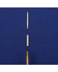 PAUL CLEAN  Adapterhülse und Spitze  (Jags) PE 90 Gewinde M4x0,5 PE 90