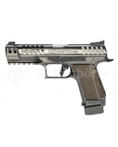 "WALTHER Q5 Match  SF Black Diamond  5"" 9mm para"